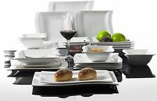 Modern Dining Sets 26PC Ceramic Crockery Dinner Set Service for 6 Plates Bowls