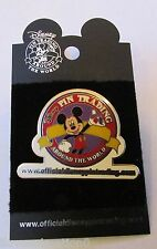 Disney WDW Official Disney Pin Trading Website Logo Mickey Mouse Pin