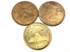 Lot of 3 Spirit Mountain Casino Game Tokens Grand Ronde OR