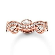 New Thomas Sabo Glam & Soul Silver/Rose  CZ Infinity Ring TR2011 Size 56 £155