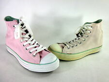 CONVERSE CHUCK TAYLOR ALL STAR PAST RD HI PINK/GREEN CANVAS US SIZE 10 MEDIUM