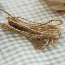 10M Jute Twine Rope Natural Hemp Twisted Burlap String Cord Rope Gift Pack Decor