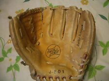 VINTAGE JUNIOR LEAGUE MEDIUM SIZE #J-801 BASEBALL GLOVE, NICE, L@@K!!!