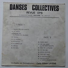 Danses collectives CARLO GILBERT LAYENS Revue EPS SPORT  KO76 0907