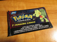 1x SEALED Pokemon TOPPS ADVANCED Booster Card TREECKO ART Pack From Box TCG