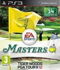 TIGER WOODS PGA TOUR 12  MASTERS    -  NEUF   -----   pour PS3