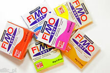 STAEDTLER FIMO SOFT POLYMER MODELLING OVEN BAKE CLAY SET OF 8 BRICKS