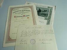 Konvolut Urkunden Zeugnisse 1921-24 BARNTEN / HAMELN / GIFTEN für A.-M. Burgdorf