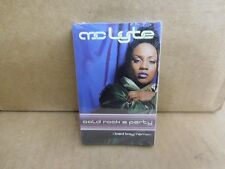 MC LYTE COLD ROCK A PARTY BAD BOY REMIX FACTORY SEALED CASSETTE SINGLE B