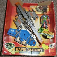 Il corpo-RAPID Assault-Elicottero da combattimento-Covert Command-Action Figure Set