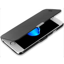 For iPhone 7 Plus [5.5] Wallet Magnetic Slim Pouch Case Cover Black