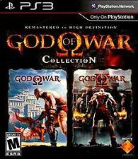 God of War Collection (Sony PlayStation 3, 2009) DISC IS MINT