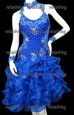 Custom-made Latin Salsa Rumba Samba Jive Dance dress Z020