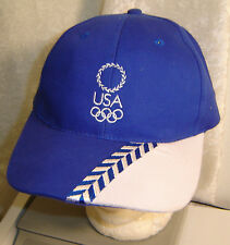 Olympics Hat Ball Cap USA Embroidered  Licensed Torino 2006 New old stock
