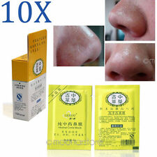 10pcs Effect Herbal Deep Nose Pores Clean Blackheads Remover Conk Mask Peels NEW