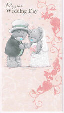 ME TO YOU ON YOUR WEDDING DAY CARD TATTY TEDDY BEAR NEW