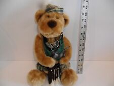 """Vintage IRISH .Tenderer Hearted collection bagpipe bear Leader Light LT 15"""" Tall"""