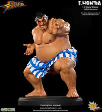 SIDESHOW / PCS POP CULTURE SHOCK STREET FIGHTER EXCLUSIVE E HONDA OZEKI STATUE