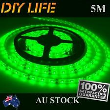 Waterproof 12V Green 5M 3528 SMD 300 Leds LED Strips Led Strip Lights Car Boat