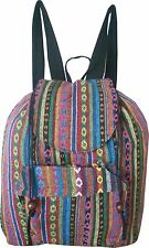 Rucksack Backpack leicht Schule Vintage Hippie Retro Folklore native Gypsy 32484
