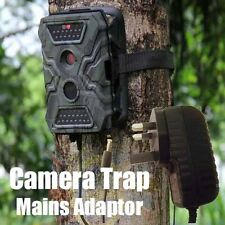 Wildlife Trail Camera Trap UK Mains AC Wall Adapter Power Supply