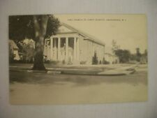 VINTAGE POSTCARD FIRST CHURCH OF CHRIST SCIENTIST HADDONFIELD NEW JERSEY