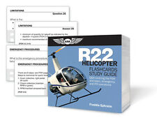 ASA R22 Helicopter Flashcards Study Guide | ASA-CARDS-R22 | Robinson R22