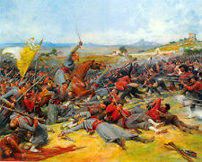 Lionel Noel Royer  - The Battle Near Mentana  - 24'  CANVAS