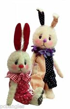 Bounce rabbit sewing pattern.  Mini 6 inch bunny by pcbangles. Soft toy pattern