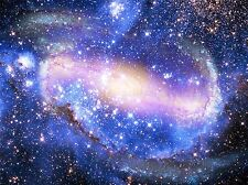 SPIRAL GALAXY NEBULA STARS DEEP SPACE ART PRINT POSTER PICTURE BMP2155A