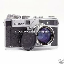 Nikon SP 35mm Rangefinder Camera+Nikkor-S.C 5cm f/1.4 - CLASSIC FILM PHOTOGRAPHY