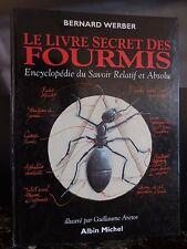Le livre des fourmis Bernard Weber 1993 ARTBOOK by PN