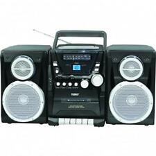 NAXA*Portable Shelf System CD PLAYER*with AM/FM STEREO RADIO & CASSETTE Recorder