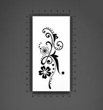 Tatouage temporaire tatoo fleurs