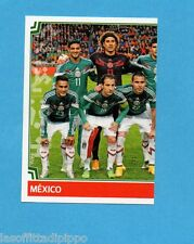 COPA AMERICA 2015 CHILE-Figurina n.45- SQUADRA/TEAM SX-MESSICO-NEW-BLACK BACK