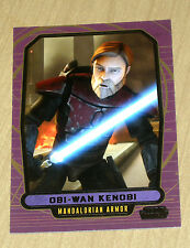 2013 Topps Star Wars Galactic Files Series 2 GOLD parallel OBI-WAN KEN #569 1/10