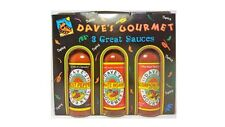 DAVE'S 3 PACK GIFT - Ghost, Trinidad Scorpion & Ultimate Sauces - EXTREME HEAT!