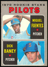 1970 TOPPS OPC O PEE CHEE BASEBALL 88 MIGUEL FUENTES DICK BANEY NM PILOTS ROOKIE