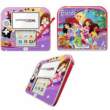 Lego Friends Vinyl Skin Sticker for Nintendo 2DS