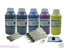 Pigment Refill ink kit for HP 932 933:OfficeJet 6100 6600 6700 5X250ml/S/Plug