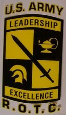 Window Bumper Sticker Military Army ROTC Reserve Officers Training Corps NEW