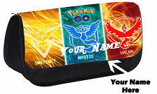 Personalised Unofficial Pokemon Custom Pencil Case  Bag Gift Idea School