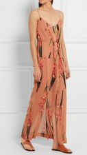 TOPSHOP UNIQUE SELWYN RANGE AW16 SILK MAXI DRESS 100% SILK SIZE UK 10 EU 38 US 6
