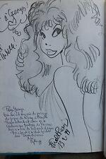 BD dedicace dessin walthery rubine n°6 america EO 1998 très bon état