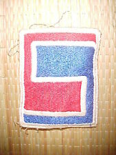 WWII US 69 th Infantrie Div. patch