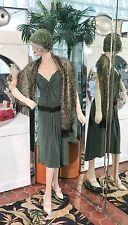 1920s DRESS & FLAPPER HAT BELT CAPE Modern Millie Gatsby DOWNTON ABBY LAUNDRY 8