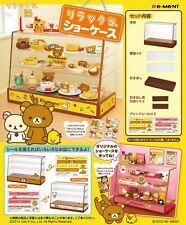 New!! Re-ment Rilakkuma Bear Cake Bread Cookie Display Show Case from Japan
