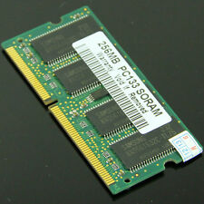 NEW 256MB PC133 SODIMM SDRAM 144pin memory so-dimm Laptop Notebook 133Mhz RAM