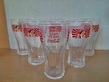 6 VERRES COCA COLA 125 ans Pin up 37cl