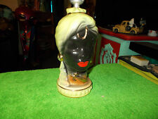 Vtg. 1950's Mid-Century Black Male Nubian Genie Aladdin Blackamoor Lamp Light